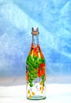 Бутыль 1 л с декором