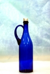 Бутыль 1 л синяя с ручкой