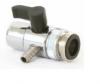 Дивертор 10 мм с металлическим переходником (ёлочка)