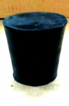 Пробка конусная резиновая №45